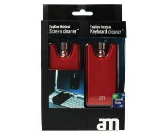 Puhastusvahendid AM EazyCare Notebook ekraan+klaviatuur - punane