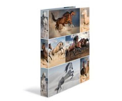Rõngaskaaned Herma A4, 35mm, pildiga - hobused