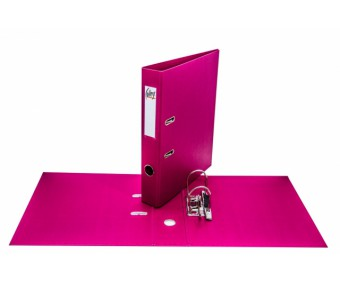 Registraator College A4, 4cm - roosa