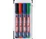 Valgetahvlimarker Edding 360, 1.5-3mm - 4 tk