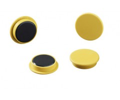 Tahvlimagnet Durable Ø32mm - kollane