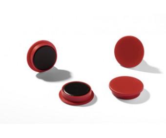 Tahvlimagnet Durable Ø32mm - punane