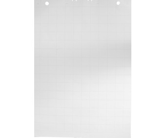 Tahvlipaberiplokk 60x84cm, 50 lehte - ruuduline
