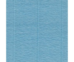 Krepp-paber Cartotecnica Rossi 50x250 cm, 144g/m² - Azure