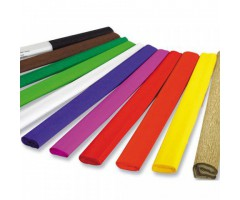 Krepp-paber 50cm x 2,5m (värvivalik)