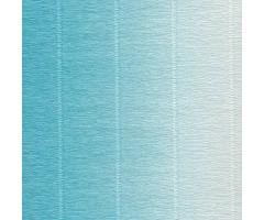 Krepp-paber Cartotecnica Rossi 2-tooniline 50x250 cm, 144g/m² - sinine-valge