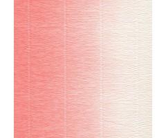 Krepp-paber Cartotecnica Rossi 2-tooniline 50x250 cm, 144g/m² - roosa-valge