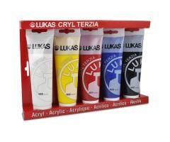 Akrüülvärvide komplekt Lukas Terzia 5x125 ml - Klassika