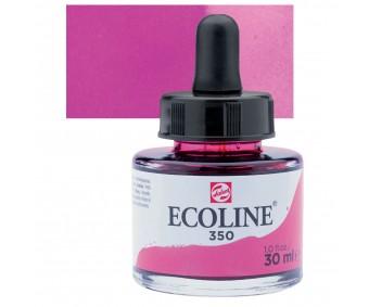 Akvarelltint Talens Ecoline, 30 ml - 350 fuksia