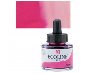 Akvarelltint Talens Ecoline, 30 ml - 337 magenta