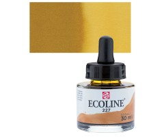 Akvarelltint Talens Ecoline, 30 ml - 227 ookerkollane