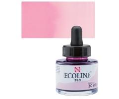 Akvarelltint Talens Ecoline, 30 ml - 390 pastellroosa