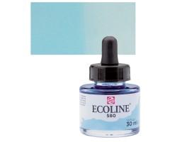 Akvarelltint Talens Ecoline, 30 ml - 580 pastellsinine