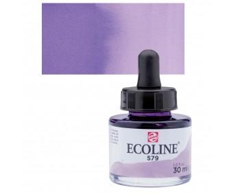 Akvarelltint Talens Ecoline, 30 ml - 579 pastellviolett