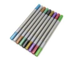 Kahe otsaga marker ZIG Memory System Writer Metallic (värvivalik)