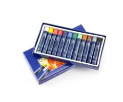 Õlipastellid Faber-Castell 12 värvi