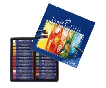 Õlipastellid Faber-Castell 24 värvi