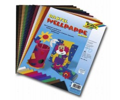 Lainepappide komplekt Folia 25x35 cm - 10 eri värvi lehte