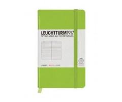 Märkmik Leuchtturm1917 Pocket A6 - jooneline sisu - heleroheline