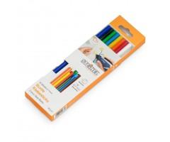 Liimipulgad Steinel Color Sticks (värvilised) - Ø 7mm, 16 tk
