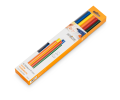 Liimipulgad Steinel Color Sticks (värvilised) - Ø 11mm, 10 tk