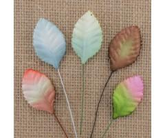 Lehed mooruspuu paberist (mulberry) - 30mm 100 tk