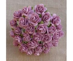 Paberlilled mooruspuu paberist (mulberry) - roosid 15mm 10 tk, rose pink