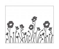 Tekstuurplaat 11x14 cm - lilled