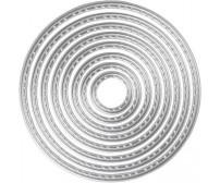 Lõiketerad 1.5.-7.5cm, 8 tk - ringid