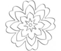 Lõiketerad 0.5x8.1cm, 5 tk - lilleõis