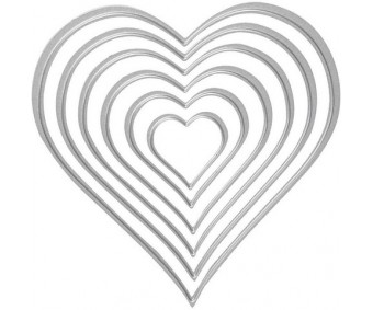 Lõiketera 3cm–11.5cm - südamed