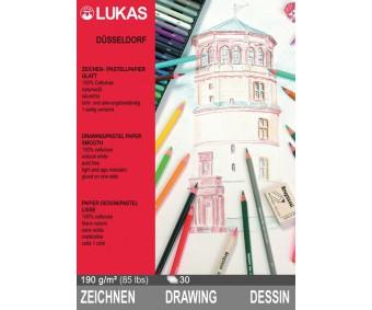 Pastellipaberite plokk LUKAS Düsseldorf - A3, 30 lehte