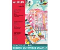 Akvarelliplokk LUKAS Venezia - 30x40 cm, 20 lehte