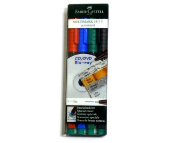 Markerid Faber-Castell Multimark - permanentsed, F