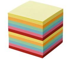 Märkmepaber lahtine 9x9cm, 700 lehte - värviline