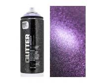 Aerosool-lakk GLITTER 400 ml - amethyst - Montana