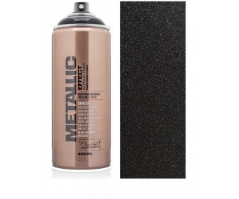 Aerosoolvärv Montana METALLIC 400 ml - Black