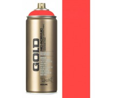 Aerosoolvärv Montana GOLD 400 ml UV-NEOON - Fire Red