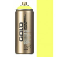 Aerosoolvärv Montana GOLD 400 ml UV-NEOON - Flash Yellow