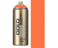 Aerosoolvärv Montana GOLD 400 ml UV-NEOON - Power Orange