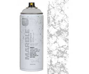 Aerosoolvärv Montana MARBLE 400 ml (marmoriefekt) - hõbedane