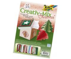 Meisterdamiskomplekt Folia Creative Mix - jõulud