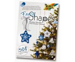 Kartongist kaunistused Folia Fancy Shapes - talv