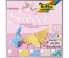 Origamipaber Folia 15x15cm, 50 lehte - Sweet