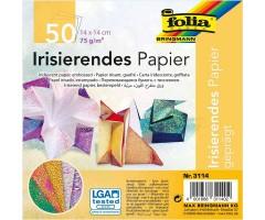 Origami paber Folia Iridescent 14x14cm, 50 lehte - Dotty