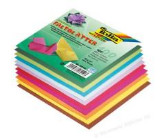Origamipaber Folia 10 värvi, 100 lehte - 10x10cm