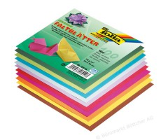 Origamipaber Folia 10 värvi, 100 lehte - 15x15cm