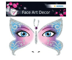 Näokleebis Herma Face Art Decor - liblikas