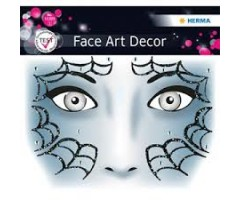 Näokleebis Herma Face Art Decor - ämblik