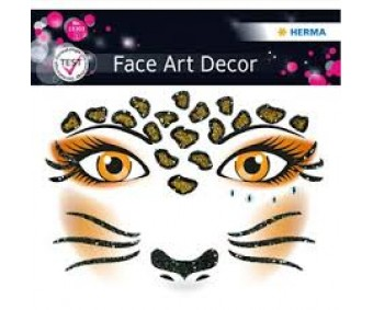 Näokleebis Herma Face Art Decor - leopard